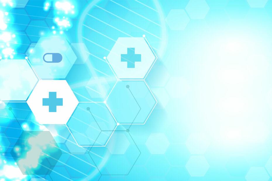 Healthcare and medical science elegant background